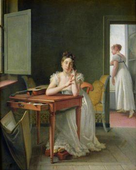 Martin Drolling – Portrait of Marceline Desbordes-Valmore