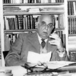 Greek poet and diplomat Giorgos Seferis