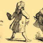 иллюстрация к стихотворению Адельберта фон Шамиссо Трагическая история