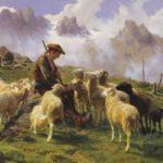 Пастух в Пиринееях