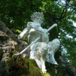 Скульптура Пана в замке Шветцинген