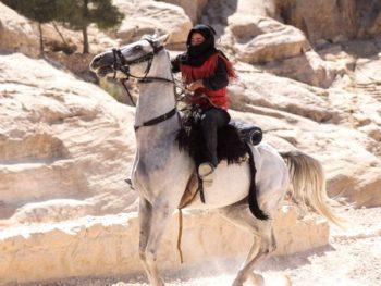 всадник в пустыне