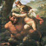 Бог Пан и амур