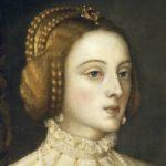 Красивая женщина 16 века