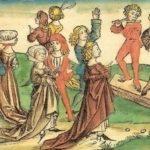 Танцы. Средние века