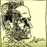Сесар Вальехо - рисунок