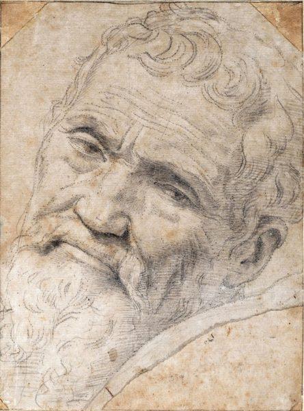 Даниеле да Вольтерра - Портрет Микеланджело