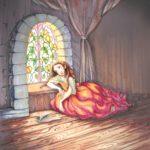 грустная принцесса