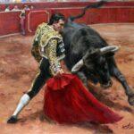 Тореро и бык