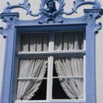 Окно с зановеской