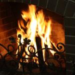 огонь камина