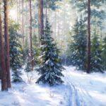 Зима-лес-лыжня