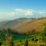 Холм - итальянский пейзаж