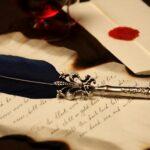 старинное письмо