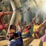 Самсон рушаший храм