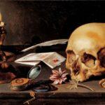 Натюрморт с черепом